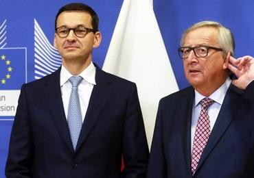 Kulisy rozmowy Morawieckiego i Junckera. Dobra atmosfera, ale brak postępu ws. praworządności