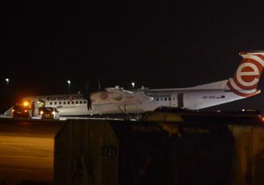 Awaryjne lądowanie na lotnisku Chopina. Będzie przegląd wszystkich bombardierów LOT-u