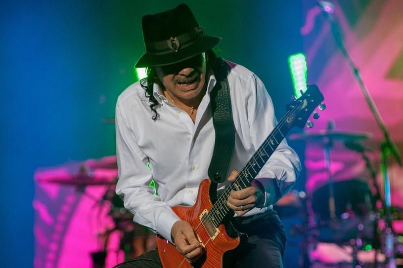 Legendarny gitarzysta Carlos Santana to pierwsza ogłoszona gwiazda tegorocznej edycji Tauron Life Festival Oświęcim.