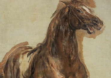 """Umorzono śledztwo ws. szkicu """"Konia jasnogniadego"""". Obraz wrócił do właściciela"""