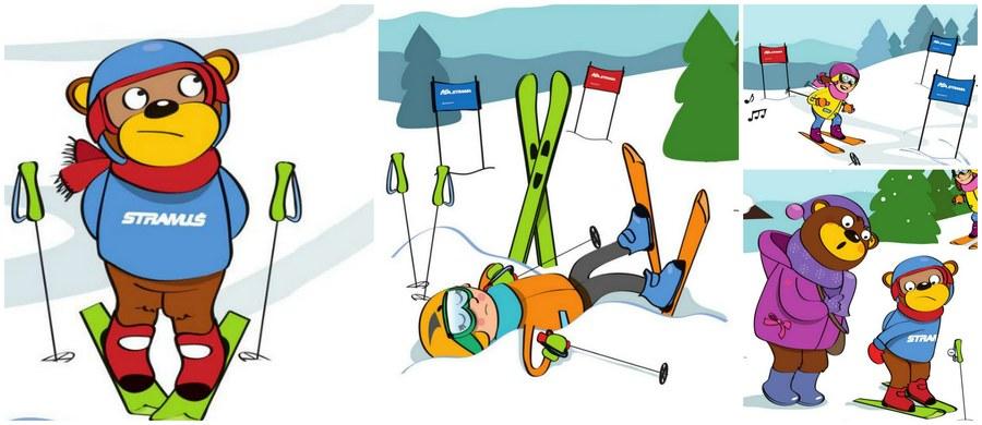 Jedziesz na narty lub snowboard? Przypominamy Kodeks zachowania na stoku. I to w wyjątkowej formie - przygotowany przez Szkołę Narciarską i Snowboardową STRAMA.