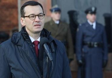 """We wtorek Morawiecki uda się do Davos. """"Weźmie udział w debatach dot. przyszłości Europy"""""""