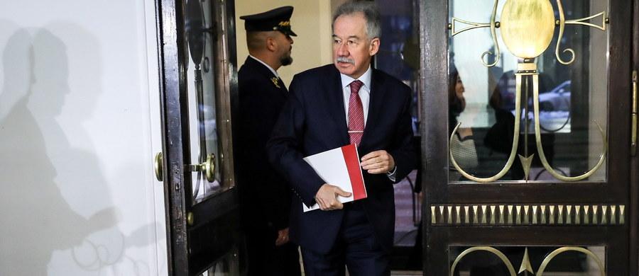 Mam nadzieję, że przedstawieni przez szefa MSWiA kandydaci na szefa Krajowego Biura Wyborczego będą spełniali warunki merytoryczne, jakie powinni spełniać - powiedział przewodniczący PKW Wojciech Hermeliński po spotkaniu z marszałkiem Sejmu i ministrem spraw wewnętrznych. Hermeliński poinformował, że podczas rozmowy nie zostały mu przekazane żadne nazwiska możliwych kandydatów na szefa KBW.