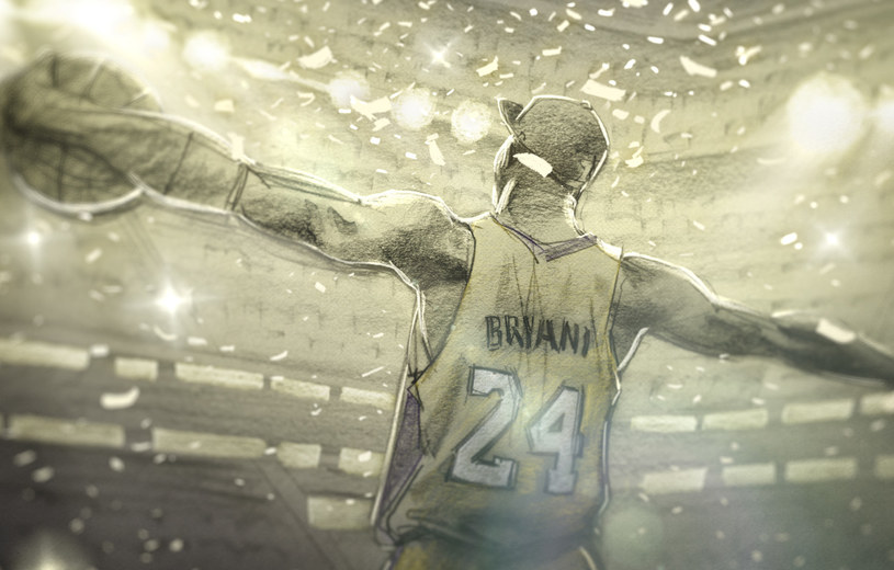 """Film """"Dear Basketball,"""" którego bohaterem i współproducentem jest słynny koszykarz NBA Kobe Bryant, otrzymał nominację do Oscara w kategorii najlepszy krótkometrażowy film animowany. Rozdanie nagród odbędzie się 4 marca podczas 90. gali Oscarów."""