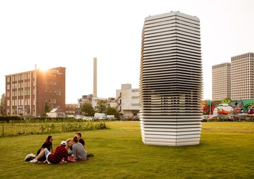W Krakowie stanie Smog Free Tower: największy oczyszczacz smogu na świecie!