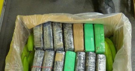 190 kilogramów kokainy odkryli celnicy z niemieckiego Duisburga w kontenerze bananów, które przypłynęły z Brazylii. Czarnorynkową wartość narkotyków określili na ponad 14 milionów euro.
