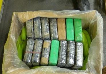 Kokaina warta 14 mln euro ukryta w kontenerze z bananami