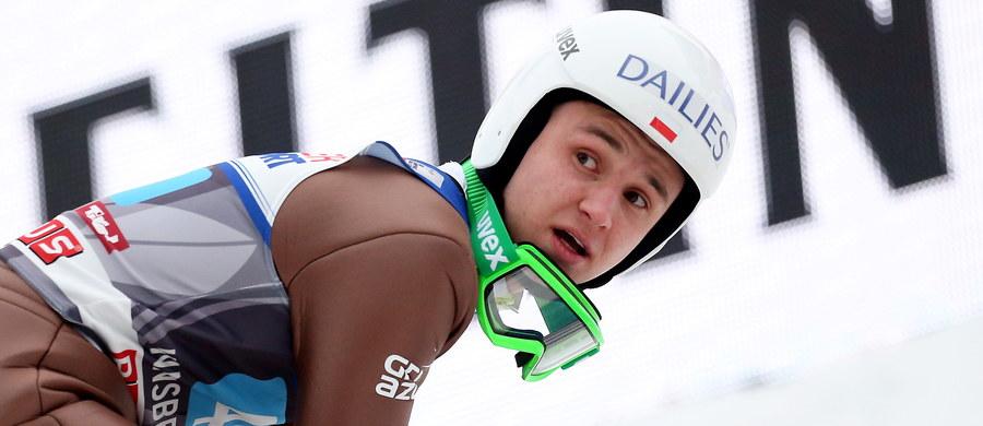 Z powodu choroby Klemens Murańka jednak nie wystartuje w zawodach Pucharu Świata w skokach narciarskich w Zakopanem - poinformował Polski Związek Narciarski. Polskę reprezentować będzie 10 zawodników, na czele z liderem klasyfikacji generalnej Kamilem Stochem.