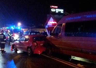 Karambol w Andrespolu, są ranni