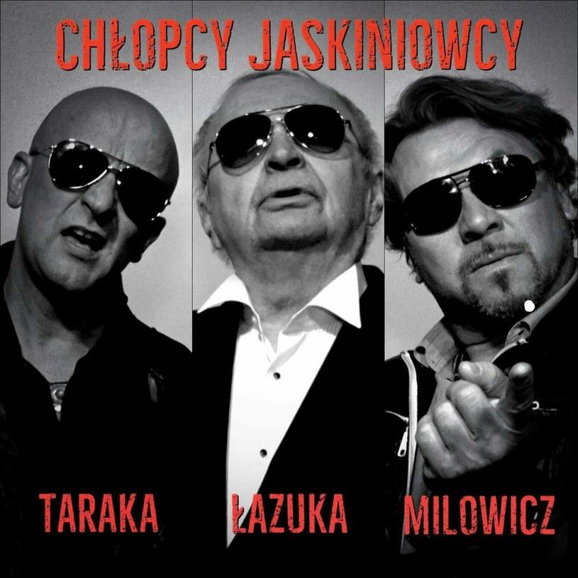 """Na stronach Interii możecie już zobaczyć teledysk """"Chłopcy jaskiniowcy"""", w którym siły połączyli zespół Taraka, Bohdan Łazuka i Michał Milowicz."""