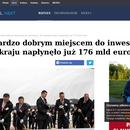 Polska jest bardzo dobrym miejscem do inwestycji ...pisze Gazeta Wyborcza