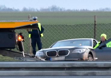 Wypadek limuzyny Andrzeja Dudy. Uszkodzone mogły być trzy opony, a nie tylko jedna