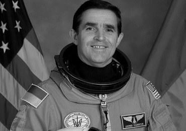 Leonid Kadeniuk nie żyje. Był pierwszym ukraińskim kosmonautą