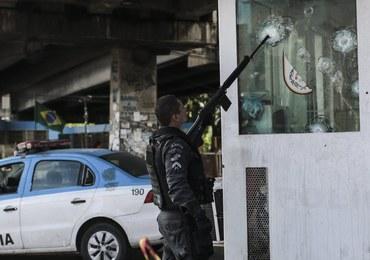 W Rio de Janeiro dochodzi do 22 strzelanin dziennie