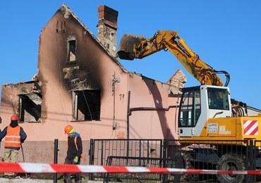Murowana Goślina: Ruszyło wyburzanie domów uszkodzonych po wybuchu gazociągu