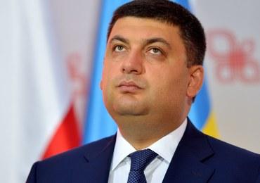 Premier Ukrainy: Nie chcemy konfliktu, sami uporamy się ze swoimi bohaterami i historią