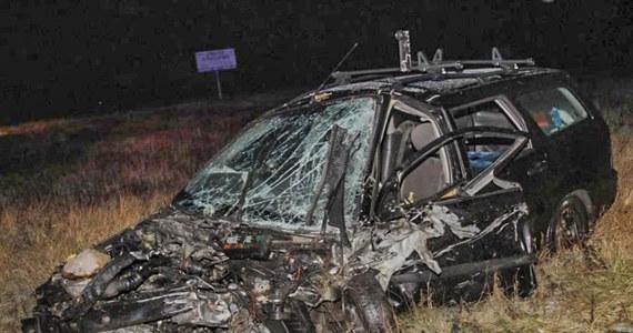 Groźny wypadek na drodze krajowej numer 46 na obwodnicy Opola. Ranne zostały cztery osoby.