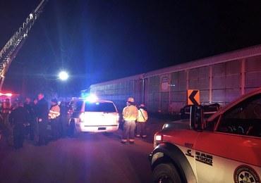 Katastrofa kolejowa w Południowej Karolinie. Są zabici i ranni
