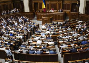 """Parlament Ukrainy zareaguje ws. ustawy o IPN. """"To przeczy wartościom demokracji"""""""