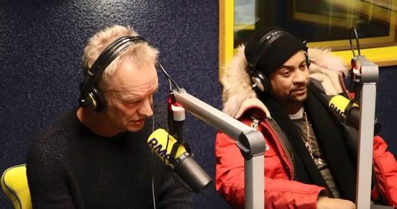 """Sting i Shaggy wspólnie stworzyli utwór zatytułowany """"Don't Make Me Wait"""", który mieliście już okazję usłyszeć na antenie RMF FM. We wtorek obaj byli gośćmi Daniela Dyka."""