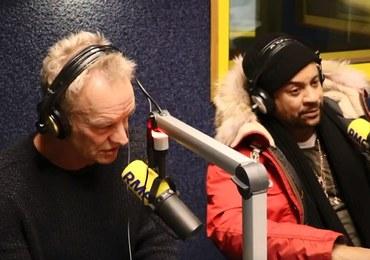 Sting i Shaggy odwiedzili RMF FM! Zobacz wywiad