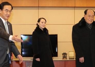 Prywatny odrzutowiec i świta urzędników. Siostra Kim Dzong Una jest w Korei Płd.