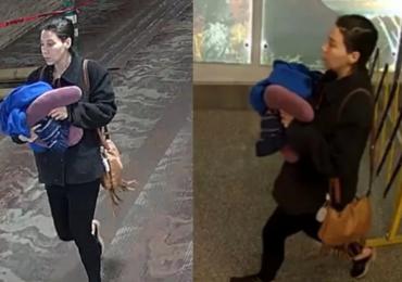Urodziła na lotnisku i zostawiła dziecko w łazience. Przy nim wstrząsający list