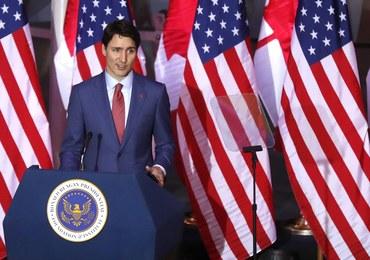 USA: Wypadek kolumny samochodów z premierem Kanady