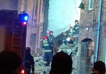 Katastrofa budowlana w Sosnowcu. Częściowo zawaliła się kamienica. Jedna osoba nie żyje