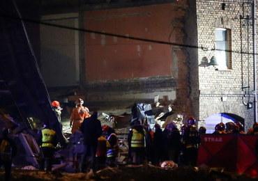 """W Sosnowcu runęła kamienica, nie żyje przysypana kobieta. """"Budynek kompletnie się rozleciał"""""""