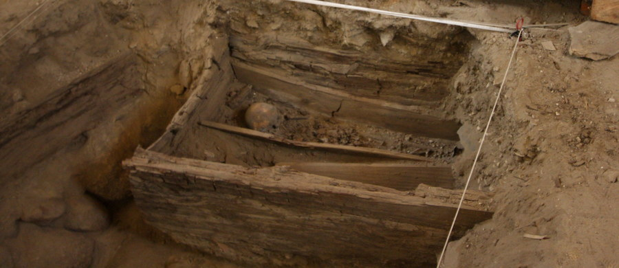 Pozostałości jam grobowych, pochodzących prawdopodobnie sprzed XVII wieku, w których znajdowały się ludzkie szczątki, odkryto w czasie prac remontowo-konserwatorskich pod posadzką bazyliki Wniebowzięcia Najświętszej Marii Panny w Rzeszowie.