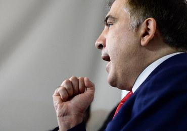 Media: Wydalony z Ukrainy Micheil Saakaszwili przebywa w Holandii