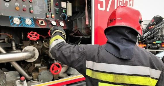 Około stu osób ewakuowali strażacy z pociągu, który najechał w czwartek rano na konar leżący na torach w Żywcu. Znalazł się tam, gdyż chwilę wcześniej na pobliskiej drodze w drzewo uderzył samochód i je złamał - podał rzecznik żywieckich strażaków Marek Tetłak.