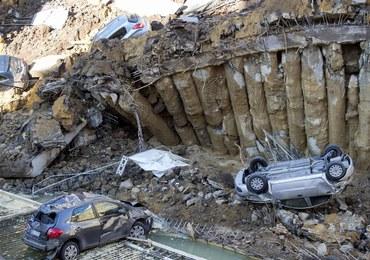 W centrum Rzymu zapadała się ziemia. Powstała gigantyczna dziura