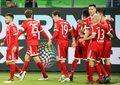 VfL Wolfsburg - Bayern 1-2. Robert Lewandowski był bliski przerwania wyjątkowej serii