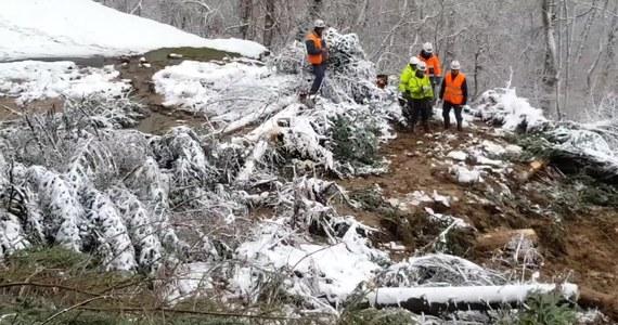 W pobliżu miejscowości Monts d'Olmes doszło do dwukrotnego osunięcia ziemi. W kurorcie narciarskim na południu Francji zostało uwięzionych ponad dwa tysiące ludzi. Do pierwszego osunięcia ziemi doszło 20 lutego, natomiast następnego dnia to zjawisko wystąpiło ponownie. Jak poinformowały lokalne władze, trwa oczyszczanie dróg.