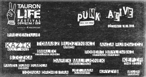 Kazik Staszewski, Darek Malejonek, Robert Brylewski - to tylko część składu, jaki wystąpi na koncercie Punk Alive w ramach TLFO 2018, 16 czerwca na stadionie MOSiR w Oświęcimiu. To wielka gratka dla fanów polskiego niezależnego rocka, zwłaszcza że do 1000 pierwszych biletów organizatorzy bezpłatnie dołączają winyl z limitowanej edycji!