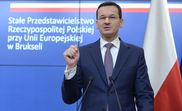 Polska jest w dobrej pozycji wyjściowej, jeśli chodzi o negocjowanie przyszłego budżetu unijnego. Rozumiemy zarówno potrzeby nowego budżetu, nowe zadania, które powinny być częściowo lub całkowicie pokrywane z niego, jak i konieczność podniesienia tego budżetu - mówił premier Mateusz Morawiecki. Szef polskiego rządu wziął udział w nieformalnym szczycie unijnych przywódców w Brukseli, podczas którego politycy poruszali kwestie m.in. budżetu UE po 2020 roku oraz zmian w funkcjonowaniu europejskich instytucji.