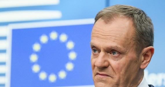 """Przewodniczący Rady Europejskiej Donald Tusk powiedział, że sytuacja w relacjach Polski z Izraelem jest bardzo poważna i jest na nią """"tylko jedna rada"""", a mianowicie - zatrzymać falę złych opinii o Polsce oraz antysemickich wypowiedzi w kraju."""
