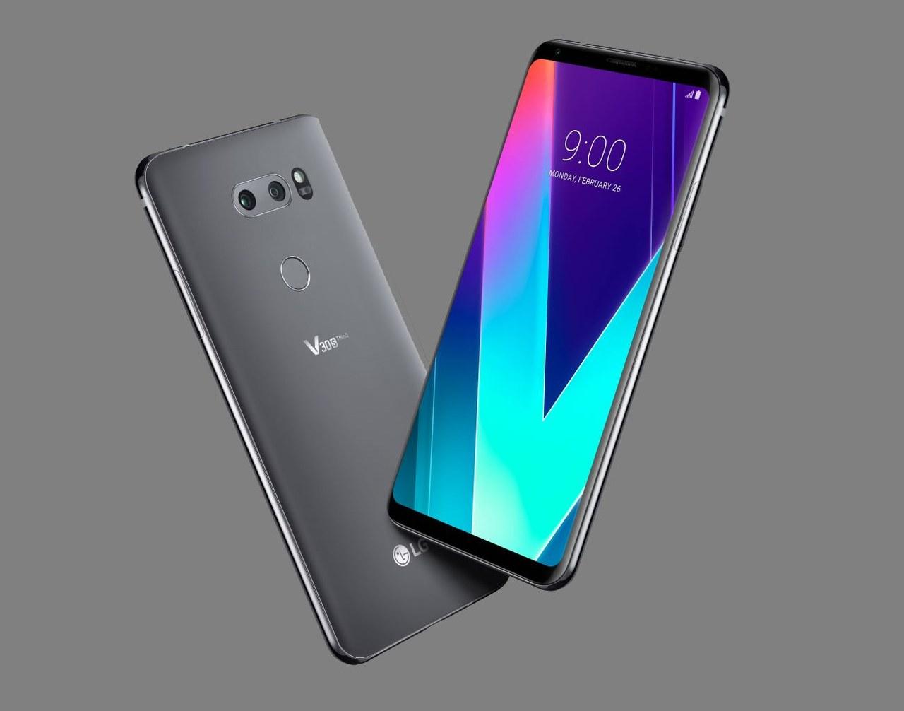 LG V30S ThinQ telefon z zaawansowaną sztuczną inteligencją