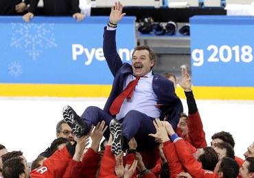 """Rosyjski prezydent zapowiada spotkanie ze """"złotymi"""" hokeistami"""