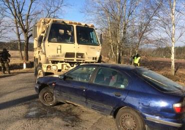 Polscy i amerykańcy żołnierze ćwiczyli procedury dot. wypadków drogowych
