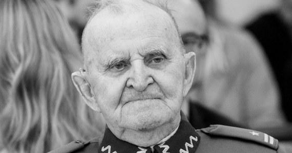 """Zmarł płk Bolesław Kowalski ps. """"Wicher"""", jeden z ostatnich uczestników Kampanii Wrześniowej, żołnierz Samodzielnej Grupy Operacyjnej """"Polesie"""" gen. Franciszka Kleeberga. Miał 101 lat."""