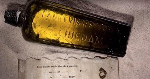List w butelce został wyrzucony do wód Oceanu Indyjskiego przez marynarza z pokładu niemieckiego statku 12 czerwca 1886 roku. Miejsce i data zostały skrupulatnie odnotowane w liście. W styczniu tego roku po 132 latach butelka została wyrzucona przez fale na plażę w Australii.