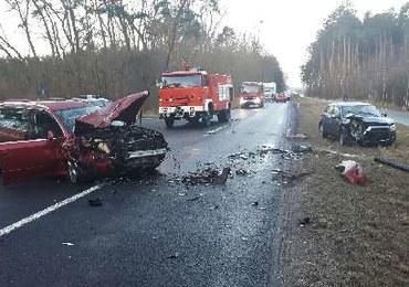 Załoga miała wypadek w drodze do pracy. Lot do Warszawy odwołany