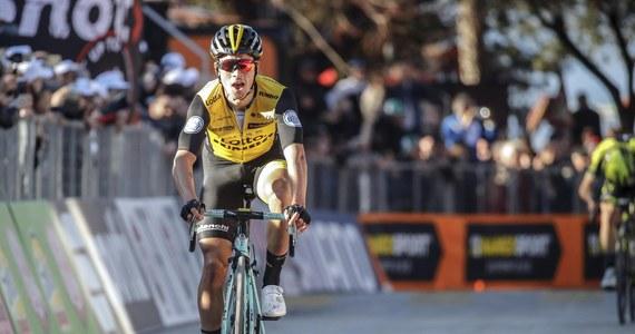 Słoweniec Primoz Roglic z grupy LottoNL-Jumbo wygrał trzeci etap kolarskiego wyścigu Tirreno-Adriatico. Szesnasty był na mecie Michał Kwiatkowski (Sky). Tego startu nie będzie natomiast dobrze wspominał Rafał Majka (Bora-Hansgrohe), który zaliczył kraksę i stracił 13 minut.