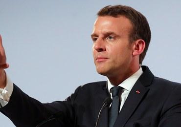 """Macron ostrzega Trumpa przed wojną handlową. """"Poważne zaniepokojenie"""""""
