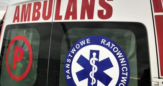 Tragiczny wypadek drogowy w miejscowości Stypułki-Borki w Podlaskiem. Nie żyje 16-latek, a 4 osoby zostały ranne.