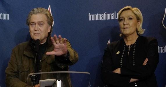 Marine Le Pen została ponownie wybrana na przewodniczącą Frontu Narodowego (FN), skrajnie prawicowego ugrupowania we Francji. Na zjeździe partii w Lille Le Pen była jedyną kandydatką i, jak się spodziewano, otrzymała mandat po raz trzeci. 49-letnia Le Pen zdobyła prawie 100 proc. głosów; jak policzono, głosów pustych lub nieważnych było zaledwie 2,87 proc. - informuje agencja AFP.