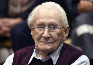 """Nie żyje Oskar Groening. """"Księgowy Auschwitz"""" miał 96 lat"""